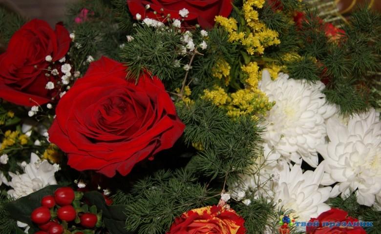 Сценарий юбилея 45 лет (Королева цветов)